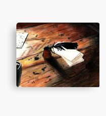 Quill Pen Canvas Print