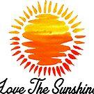 Love The Sunshine Sun Sunburst Happy Camper Sunny Outdoors Explore by MyHandmadeSigns