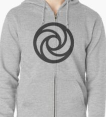 Journey Into Imagination Logo - Black Zipped Hoodie