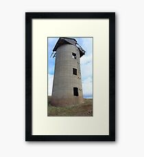 Once was a Silo Framed Print