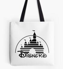 Disnerd - Schwarz Tote Bag