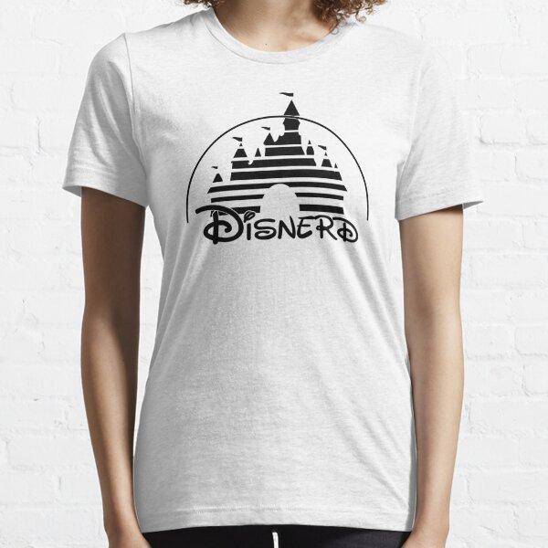 Disnerd - Black Essential T-Shirt