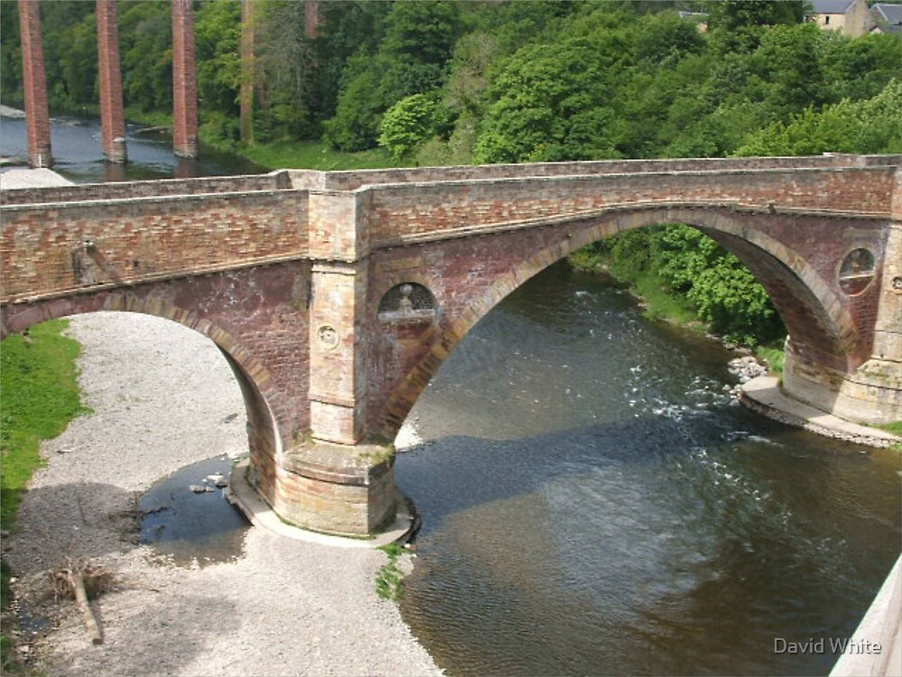 Bridge over the river Dee  by David White