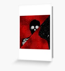 Personified. Greeting Card