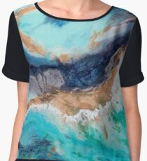 The Great Barrier Reef Chiffon Top