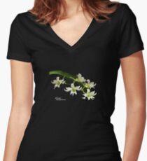 Sobennikoffia bunt Logo Women's Fitted V-Neck T-Shirt