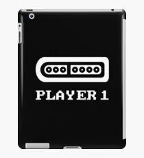 Player 1 16-Bit iPad Case/Skin