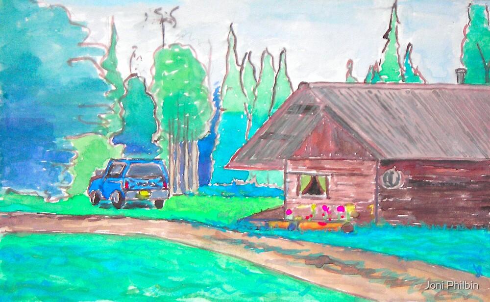 Nick's Alaska Cabin by Joni Philbin
