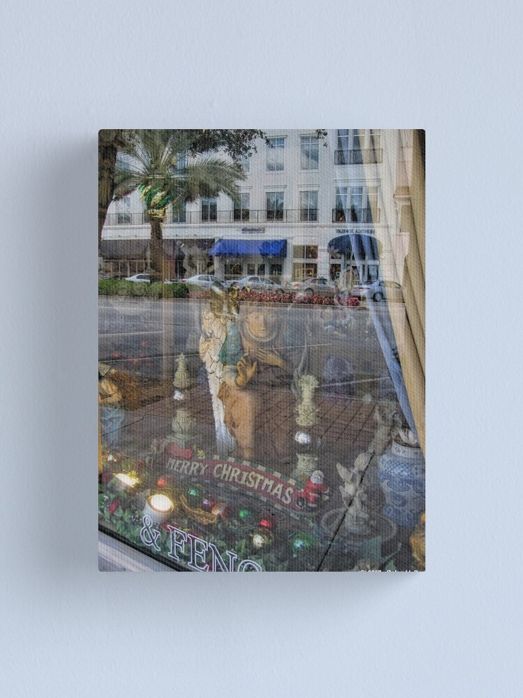Alternate view of Angels in the Window Canvas Print