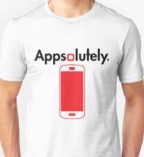 Appsolutely Hillarious Phone App Developer Geek Tshirt Unisex T-Shirt