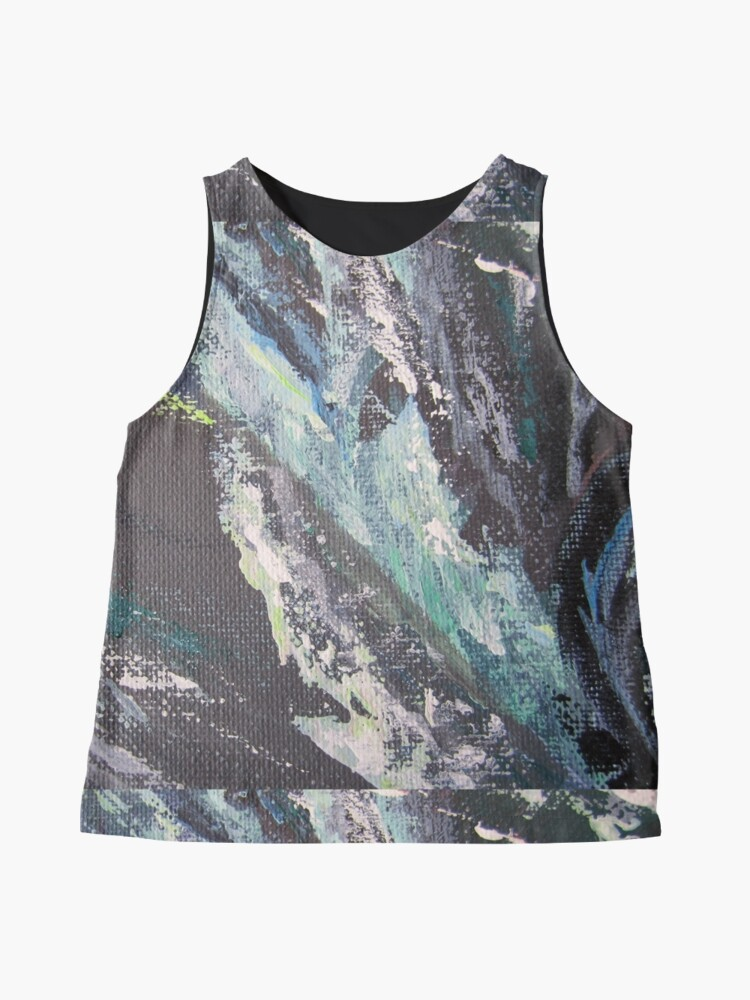 Alternate view of Abstract design Sleeveless Top