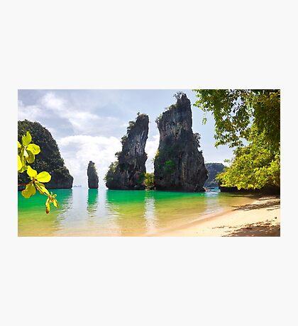 Kudu Yai Island Paradise Photographic Print