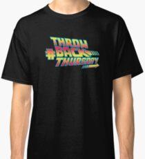 Throw Back Thursday Classic T-Shirt