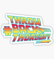 Throw Back Thursday Sticker