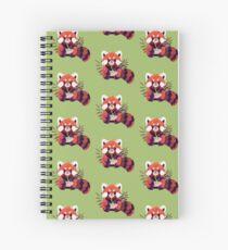 Red Panda Eating Ramen Spiral Notebook