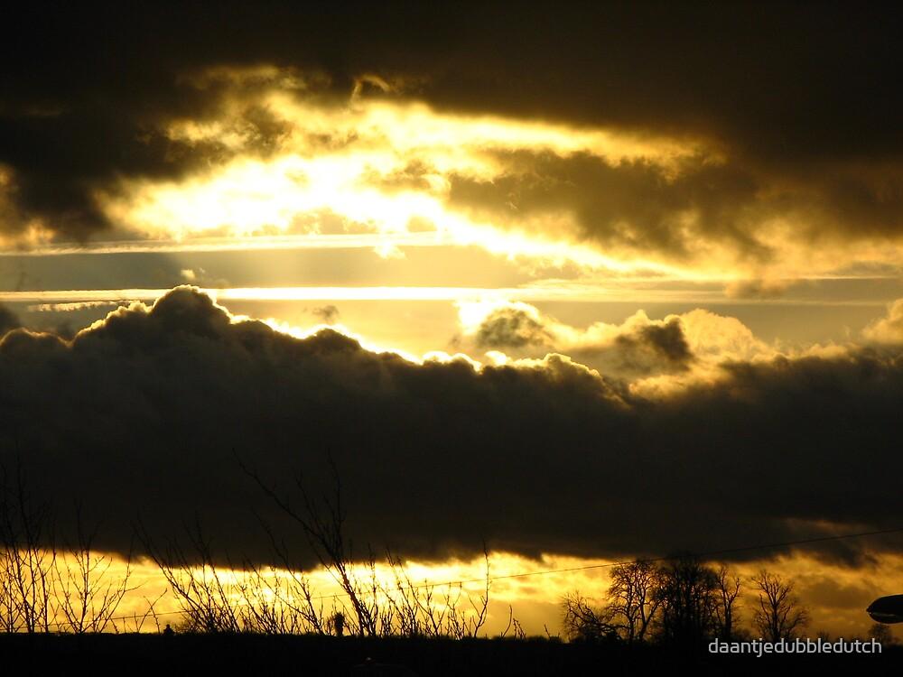 sunset in december by daantjedubbledutch