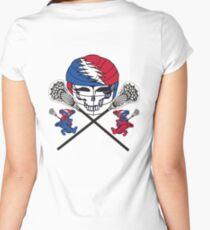 GRATEFUL DEAD lacrosse lax, sports Women's Fitted Scoop T-Shirt