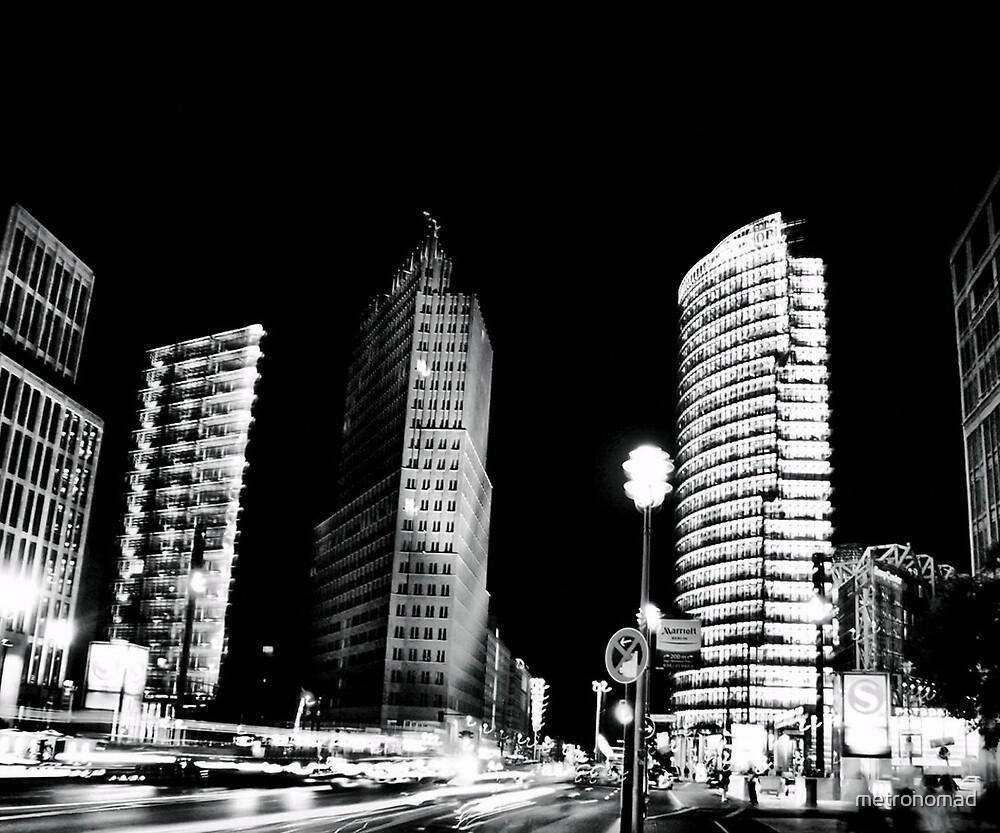 Potsdamer Platz by metronomad