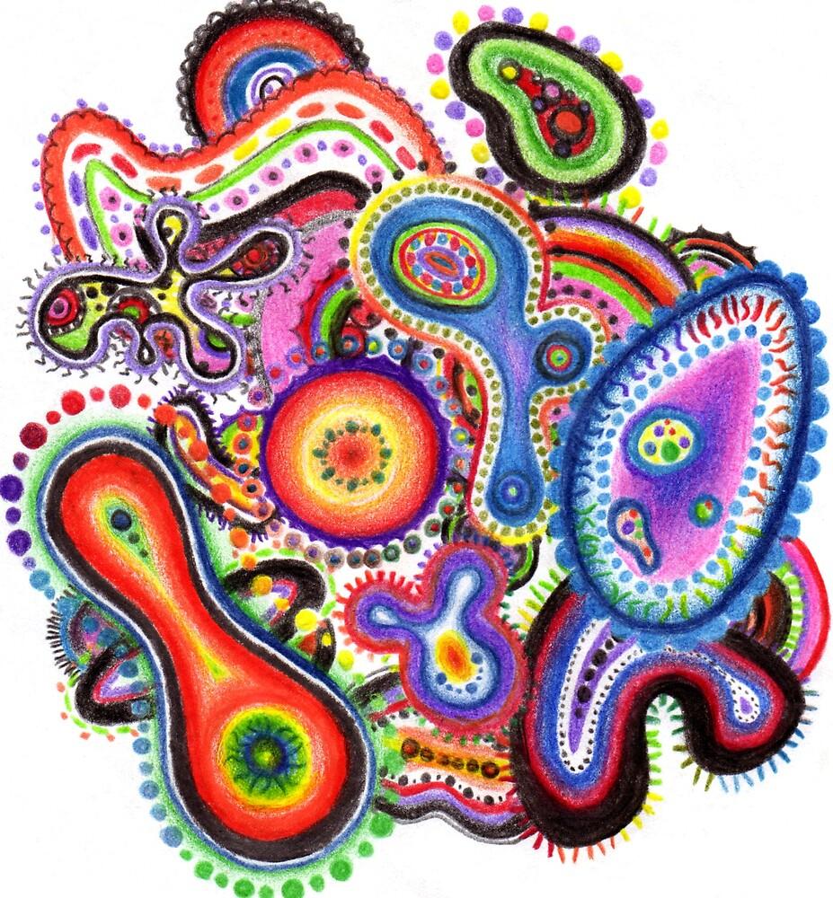 Amoeba Art by Chelsea Kerwath