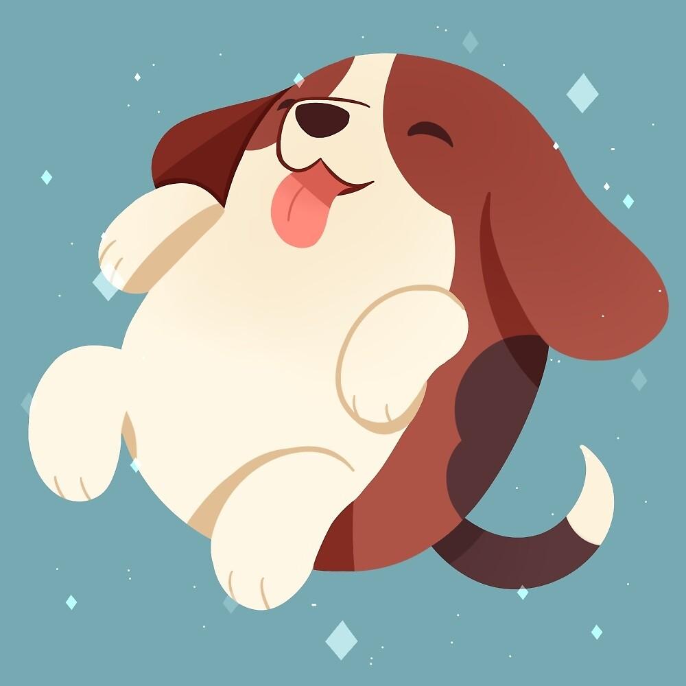 Puppy Bean Beagle by Anushbanush
