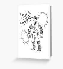 HULA HOOPS Greeting Card