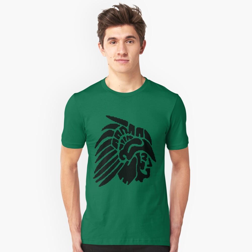 Eagle Black Unisex T-Shirt Front