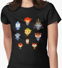 Thundercats, ho! Women's Fitted T-Shirt