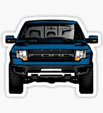 Ford Raptor Sticker Blue Sticker
