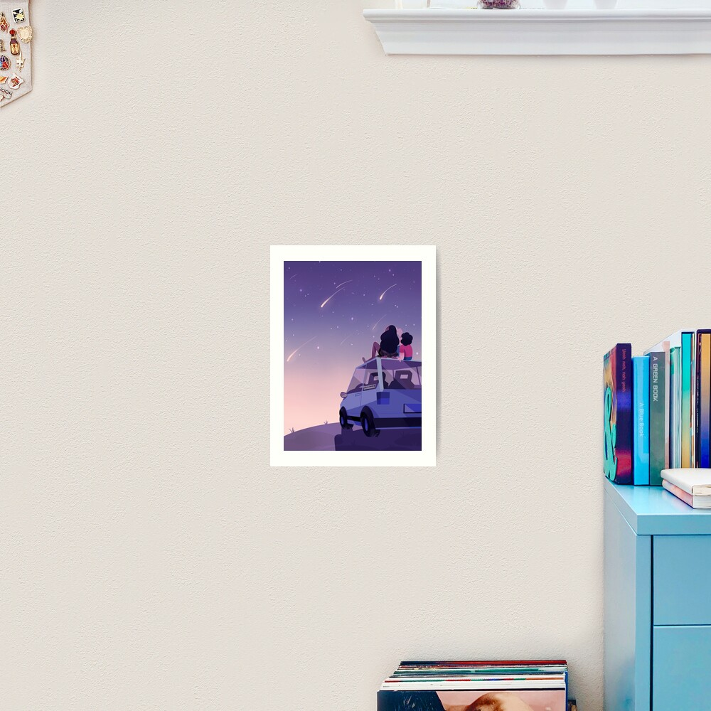 The view is beautiful Art Print