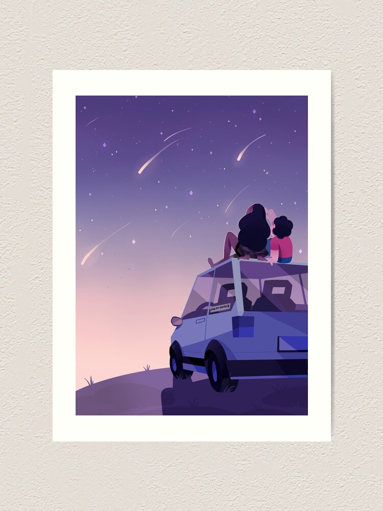 Alternate view of The view is beautiful Art Print