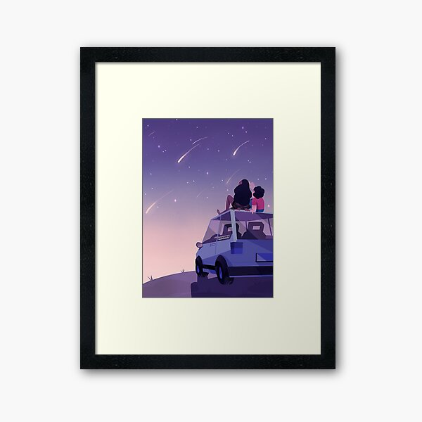 The view is beautiful Framed Art Print