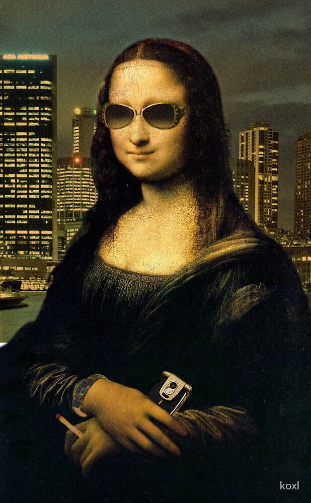 Mona Lisard in Sidney by koxl