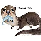 Eurasian Otter by rohanchak