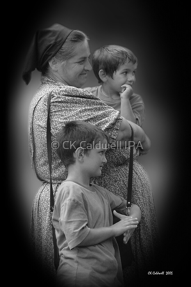 Madonna and Children by © CK Caldwell IPA
