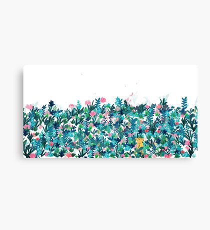Fox's Garden Canvas Print