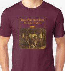 Crosby, Stills, Nash & Young - Deja Vu Camiseta unisex