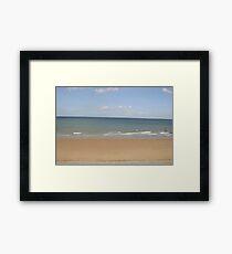 Empty Beach Framed Print