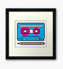 mixed tape Framed Print