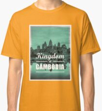 Kingdom of Cambodia   Angkor Wat Classic T-Shirt