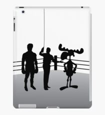 """""""Rocky and Bullwinkle"""" - the way it was meant to be! iPad Case/Skin"""