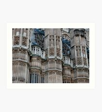 Abbey Exterior Art Print