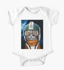 Rebel Space Cat Kids Clothes