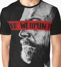 Like Father Like Daughter - Weapon X Graphic T-Shirt