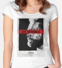Like Father Like Daughter - Weapon X Women's Fitted Scoop T-Shirt