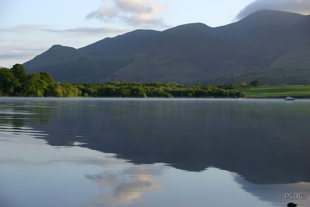 Reflection on Derwentwater by PCDC