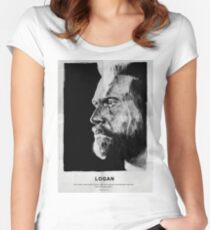 Like Father Like Daughter - Weapon X (no red bar) Women's Fitted Scoop T-Shirt