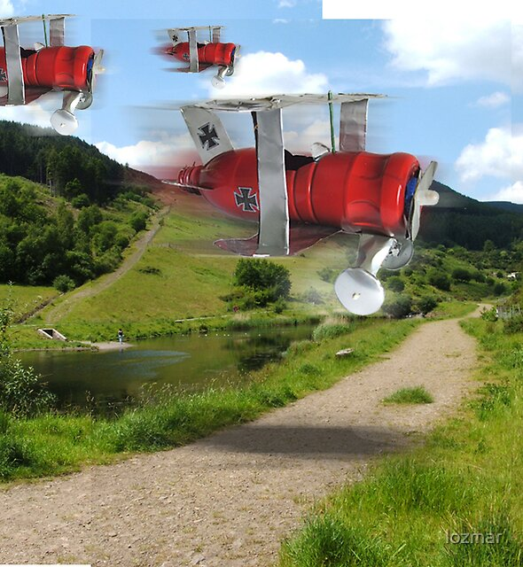 red baron in pantygog! by lozmar