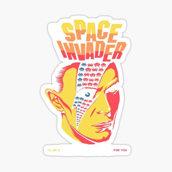 The Invader Sticker