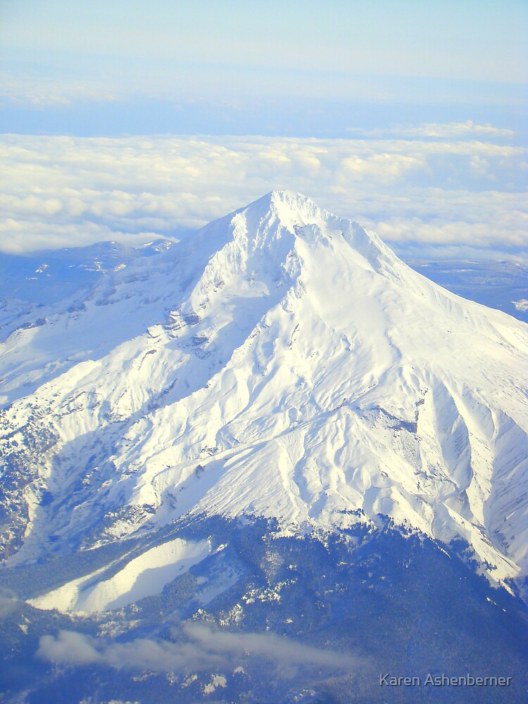 Passing by Mt. Hood by Karen Ashenberner