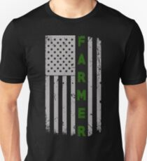 Farmer Flag Pride Tshirt Unisex T-Shirt